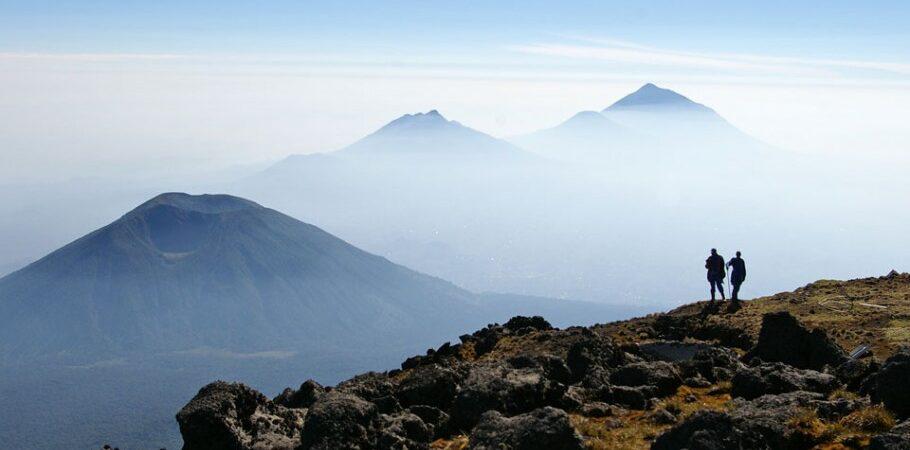 Hiking the Virunga Mountains in Rwanda