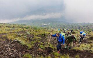 Hike to Mount Nyiragongo