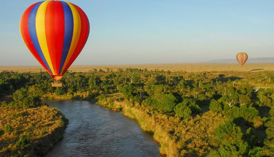 hot air baloon safaris in uganda